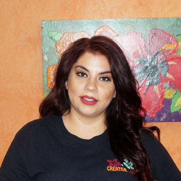 Gia at the Creative Cafe in Casa Grande, AZ