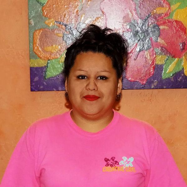 Candice at the Creative Cafe in Casa Grande, AZ
