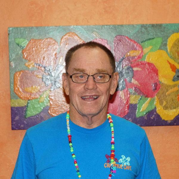 James at the Creative Cafe in Casa Grande, AZ