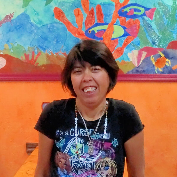Nancy at the Creative Cafe in Casa Grande, AZ